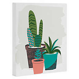 Deny Designs Cactus Afternoon Canvas Wall Art