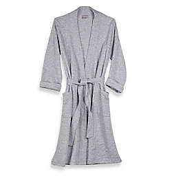 N Natori Large Quilted Robe in Grey