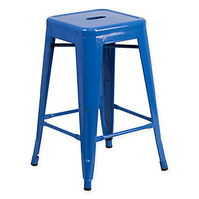 Flash Furniture Backless Indoor-Outdoor Stool