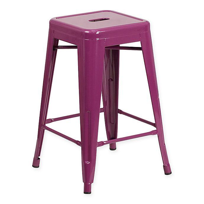Alternate image 1 for Flash Furniture Backless Indoor-Outdoor Stool