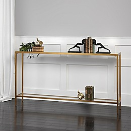Uttermost Hayley Console Table in Gold