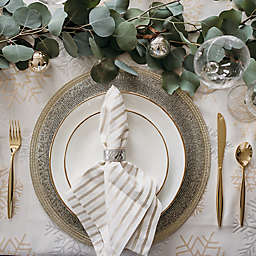 Glitzy Christmas Table