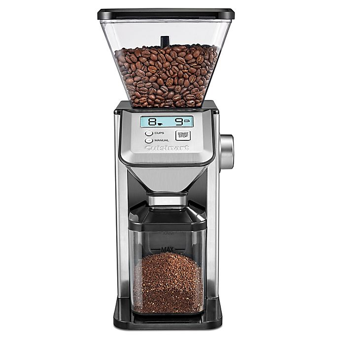 Alternate image 1 for Cuisinart® Conical Burr Coffee Grinder in Silver