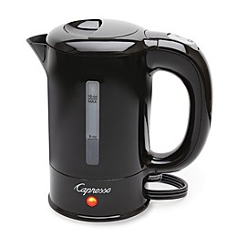 Capresso 280.01 16 oz. Mini Electric Tea Kettle in Black