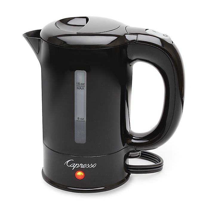 Alternate image 1 for Capresso 280.01 16 oz. Mini Electric Tea Kettle in Black