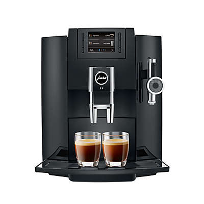 Jura® E8 Fully Automatic Coffee Machine in Piano Black