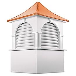 Good Directions Farmington® 123-Inch Cupola in White/Copper