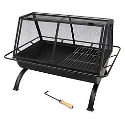 Landmann USA 35-Inch Northwoods Fire Pit in Black