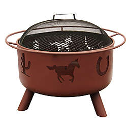 Landmann USA 29-Inch Big Sky Western Fire Pit in Clay