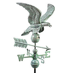 Good Directions Smithsonian Eagle Weathervane in Blue Verde Copper
