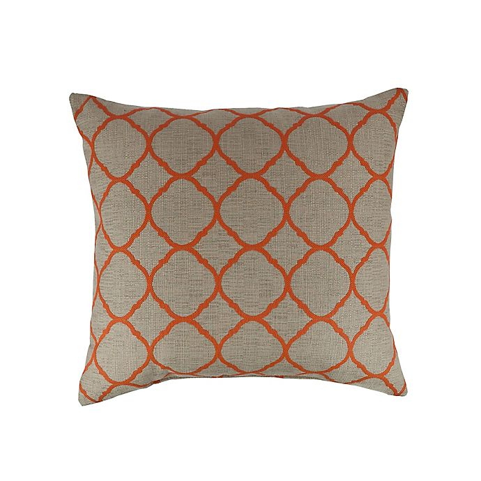 Alternate image 1 for Austin Horn Classics Sunbrella® Monterey 18-Inch Square Throw Pillow in Tan