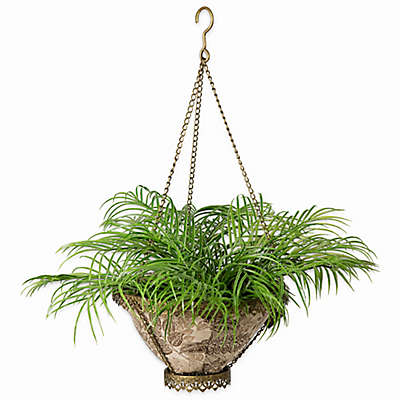 Bombay® Outdoor Avignon Hanging Fabric Planter with Liner