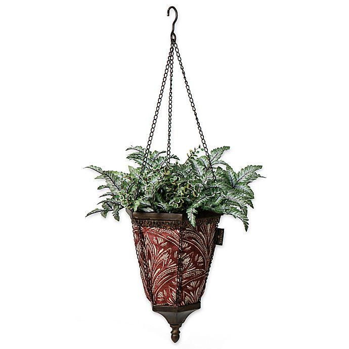 Alternate image 1 for Bombay® Outdoor Naya Hanging Fabric Planter