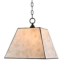 Kenroy Home Capell 1-Light Pendant in Bronze