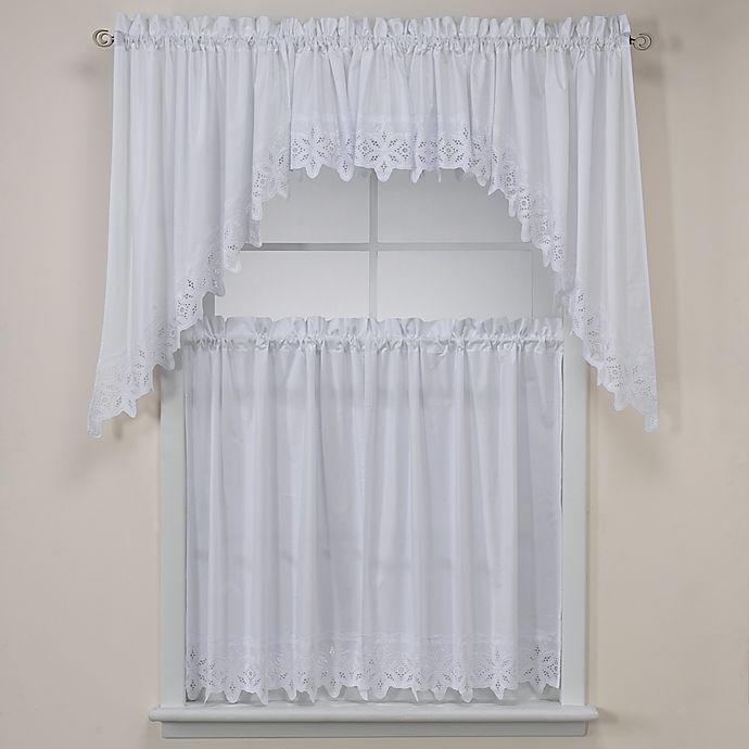 Kaitlyn Kitchen Window Curtain Tiers