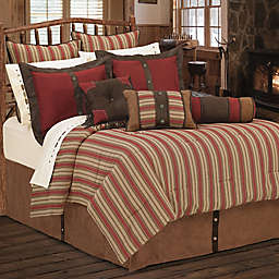 HiEnd Accents Rock Canyon Comforter Set in Red