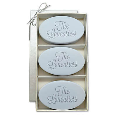 Carved Solutions Signature Spa Trio Oval Soap Bars (Set of 3)