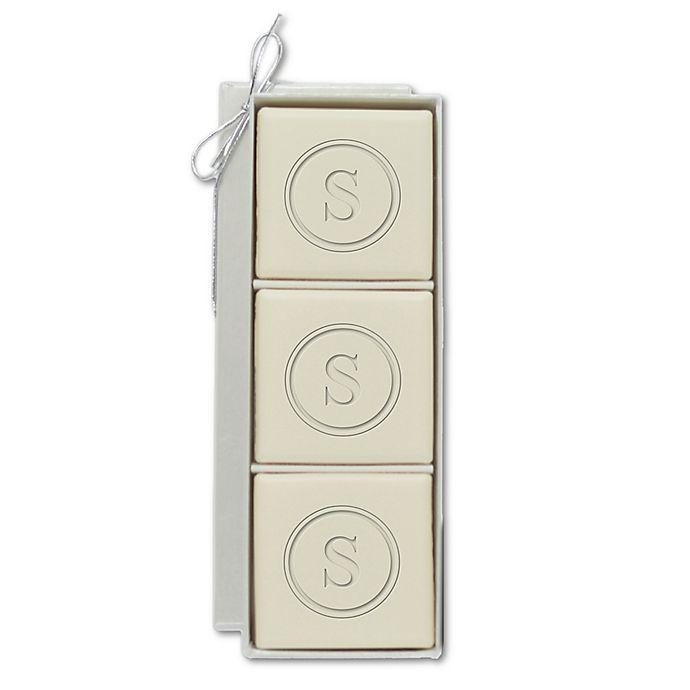 Eco Luxury Mini Hostess 4 Oz Square Aqua Mineral Bar Soap