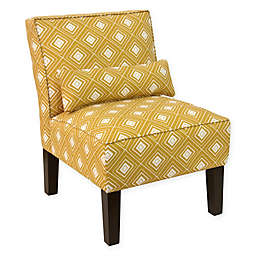 Skyline Furniture Accent Chair in Diamond Yellow