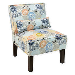Skyline Furniture Accent Chair in Painterly Medallion