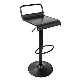 Lumisource Emery Bar Stools in Black (Set of 2)