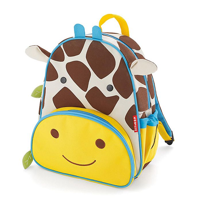 Alternate image 1 for SKIP*HOP® Giraffe Zoo Little Kid Backpack