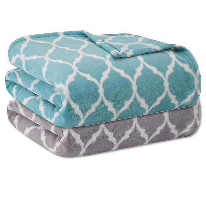Alternate image 1 for Madison Park® Ogee Blanket