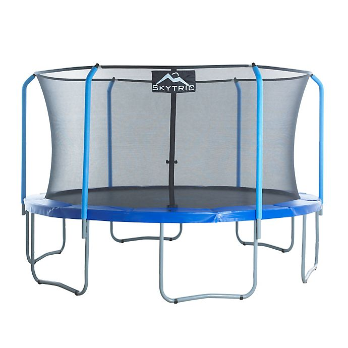 Alternate image 1 for Upper Bounce Skytric Trampoline with Top Ring Enclosure