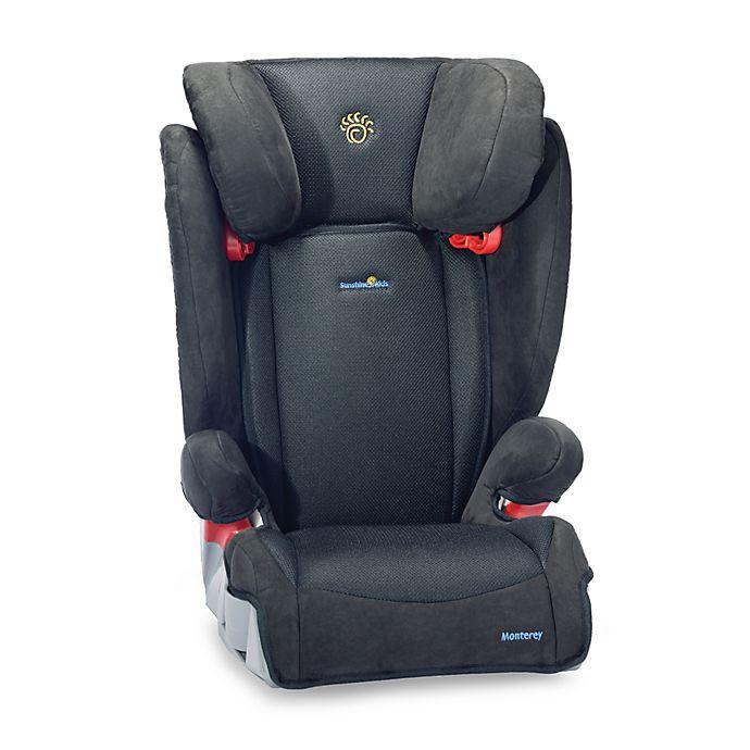 Monterey Booster Car Seat By Sunshine Kids - Black