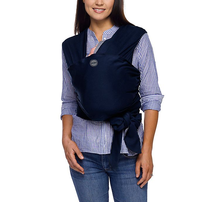 Moby Wrap Classic Baby Carrier In Navy Buybuy Baby
