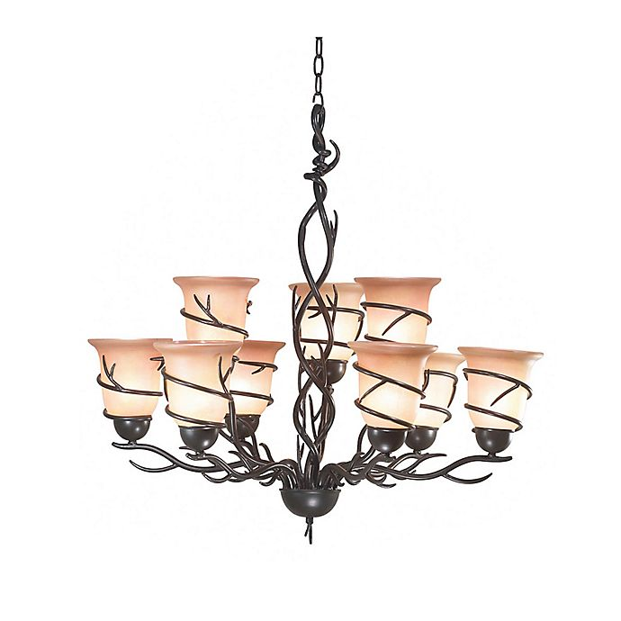 Alternate image 1 for Kenroy Home Twigs Chandelier with Bronze Finish