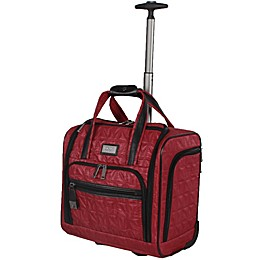 Nicole Miller NY Signature Quilt 16-Inch Wheeled Carry On