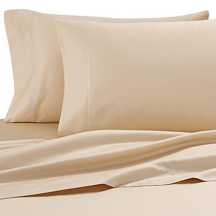 Alternate image 1 for Wamsutta® 500-Thread-Count Pima  Twin XL Sheet Set in Honey