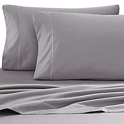 Wamsutta® Pima  500-Thread-Count Twin Sheet Set in Grey