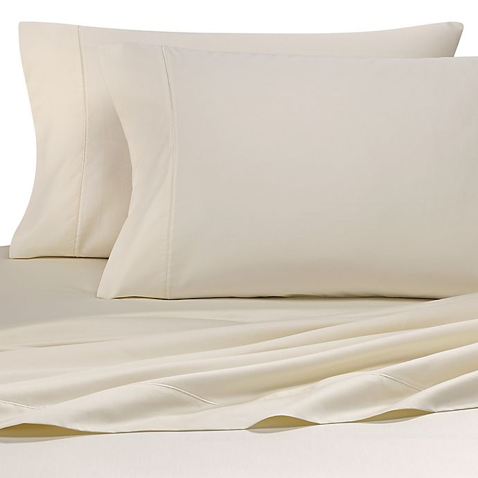 Alternate image 1 for Wamsutta® 500-Thread-Count Pima  Standard Pillowcases in Ivory (Set of 2)