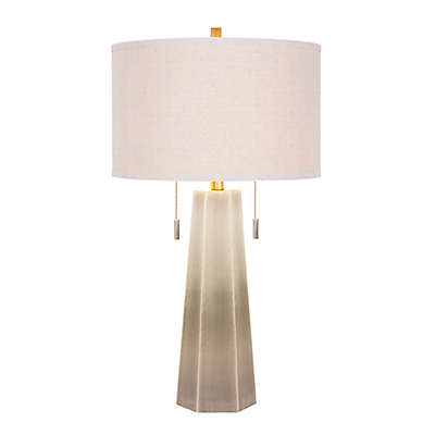 Fangio Lighting 1521 Table Lamp with Linen Shade