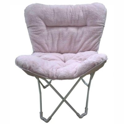 Folding Plush Butterfly Chair Bed Bath Amp Beyond