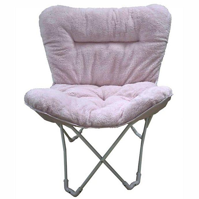 Folding Plush Butterfly Chair Bed Bath Beyond