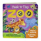 Peek-A-Flap Board Book:  Zoo  by Jaye Garnett