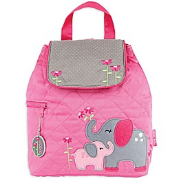 Stephen Joseph® Elephant Quilted Backpack in Pink