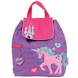 Stephen Joseph® Unicorn Quilted Backpack in Pink