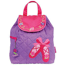 Stephen Joseph® Ballet Quilted Backpack in Purple