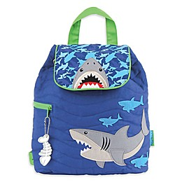 Stephen Joseph® Shark Quilted Backpack in Blue
