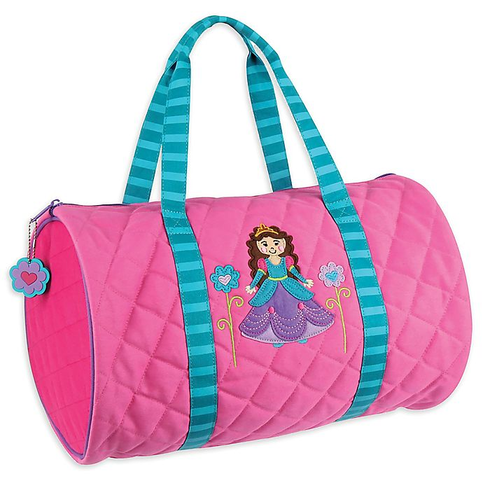 Alternate image 1 for Stephen Joseph® Princess Quilted Duffle in Pink