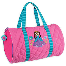 Stephen Joseph® Princess Quilted Duffle in Pink