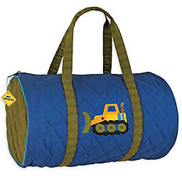 Stephen Joseph® Construction Quilted Duffle in Blue