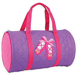 Stephen Joseph® Ballet Quilted Duffle in Purple