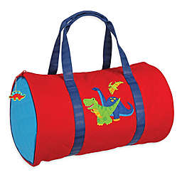 Stephen Joseph® Dino Quilted Duffle in Red