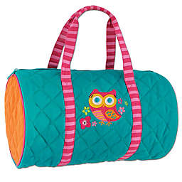 Stephen Joseph® Owl Quilted Duffle in Blue