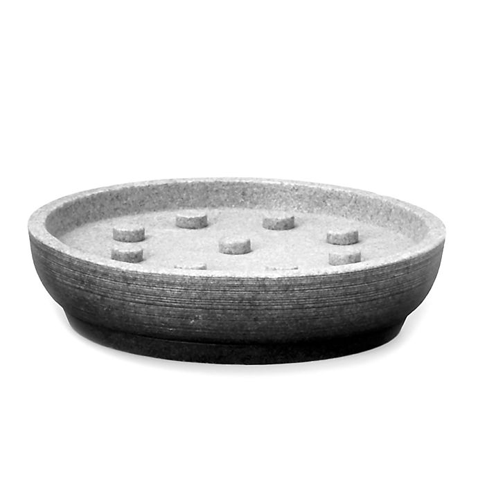 Alternate image 1 for Moda at Home Greystone Soap Dish